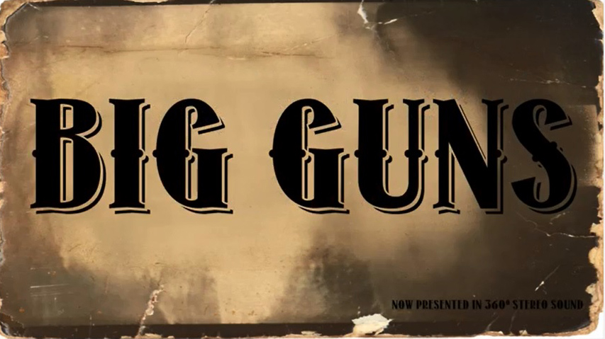 "Cimarron Firearms Company Preserving the America's Western Lifestyle through the Video Series, ""BIG GUNS"""