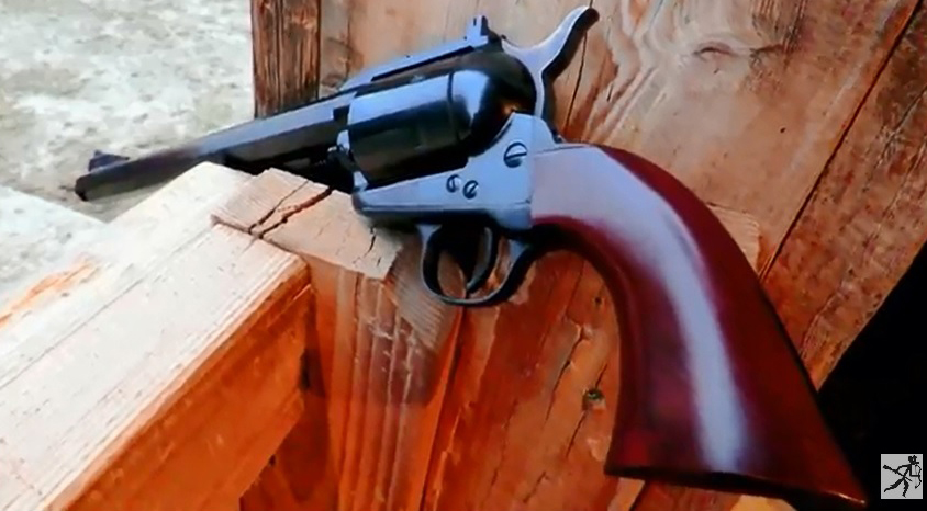 The Adventure Cowboy Takes the Cimarron Bad Boy Out to the Range