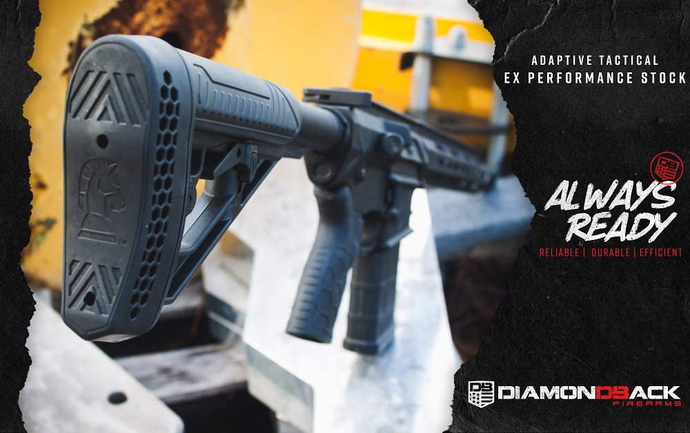 Diamondback Firearms Chooses Adaptive Tactical as OEM Stock Provider for 2018 Rifle Line Up