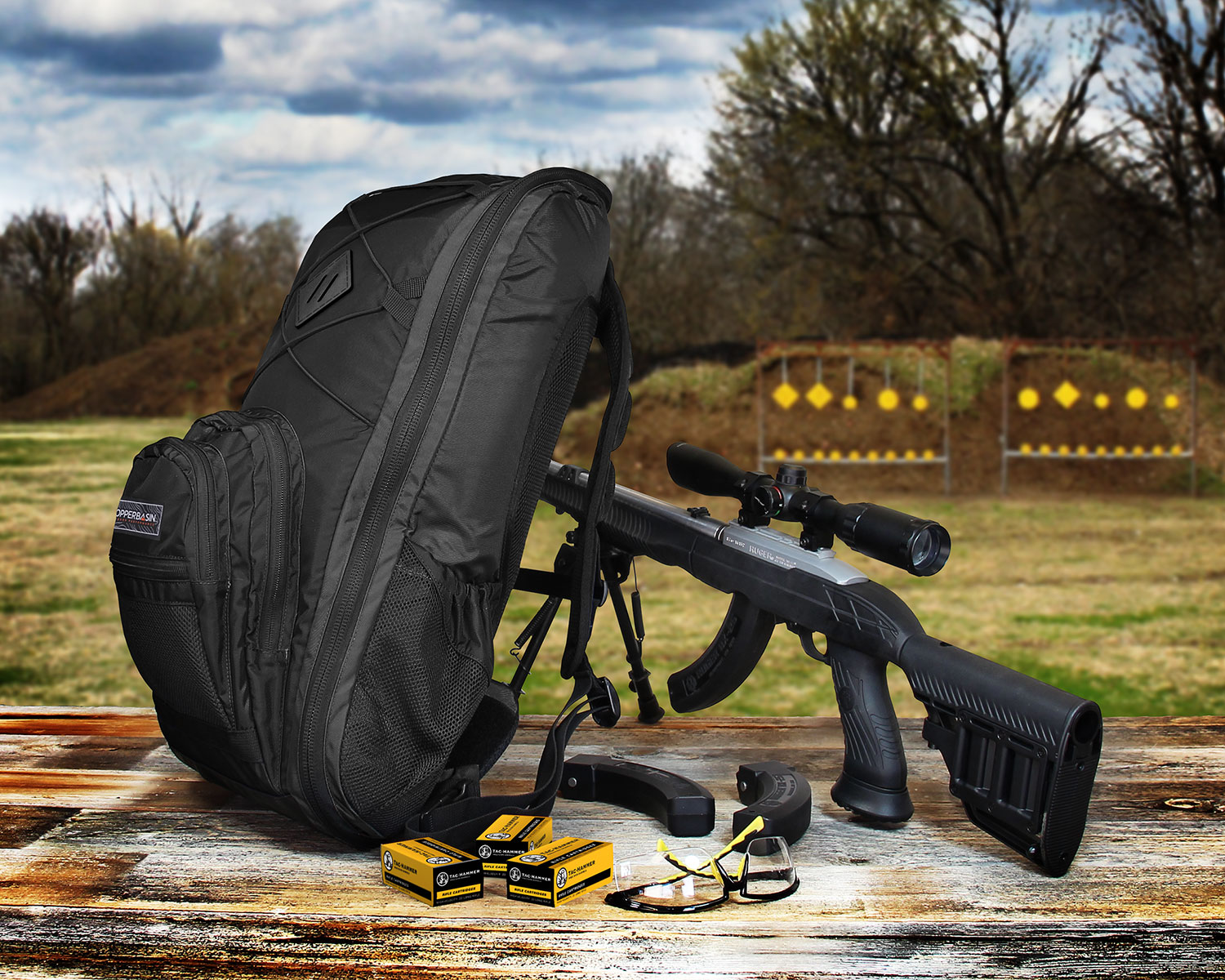 Copper Basin™ Announces Third Generation of its Takedown Firearm Backpack