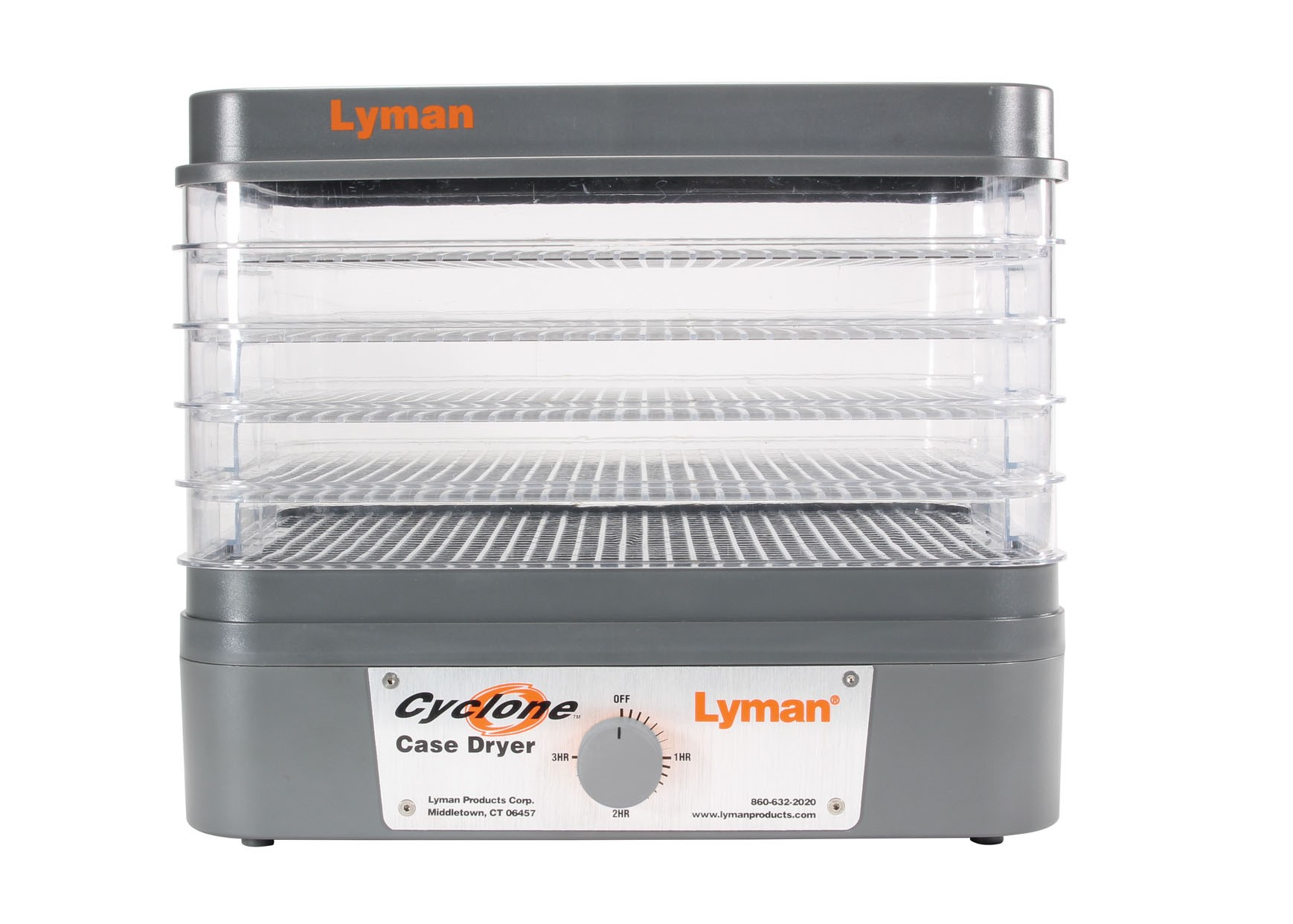 Lyman® Products' New Cyclone Case Dryer Dries Brass and Gun Parts in No Time!