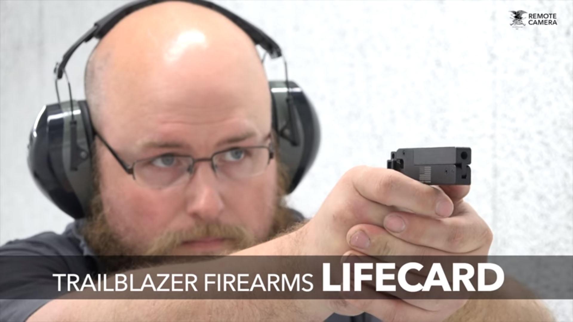 Trailblazer® Firearms' LifeCard® Named NRA Gun of the Week