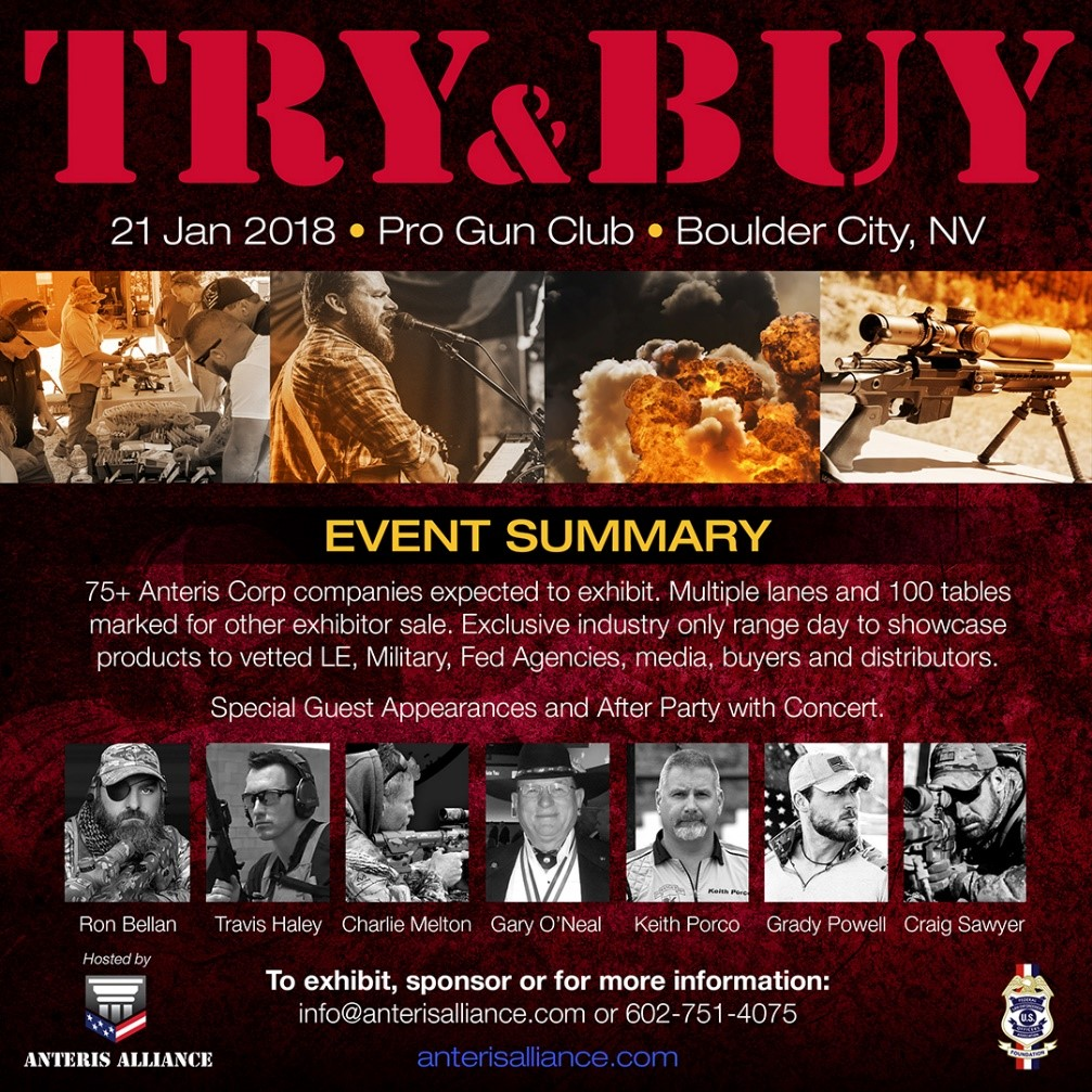 Anteris Alliance Try & Buy Event Announces Sponsor List