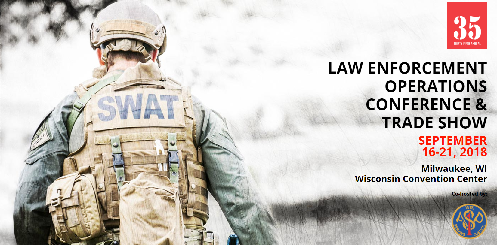 NTOA's 35th Annual Law Enforcement Operations Conference and Trade Show is Filling Quickly – Still Time to Register!