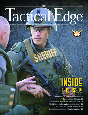 National Tactical Officers Association (NTOA) Releases the Winter Edition of The Tactical Edge