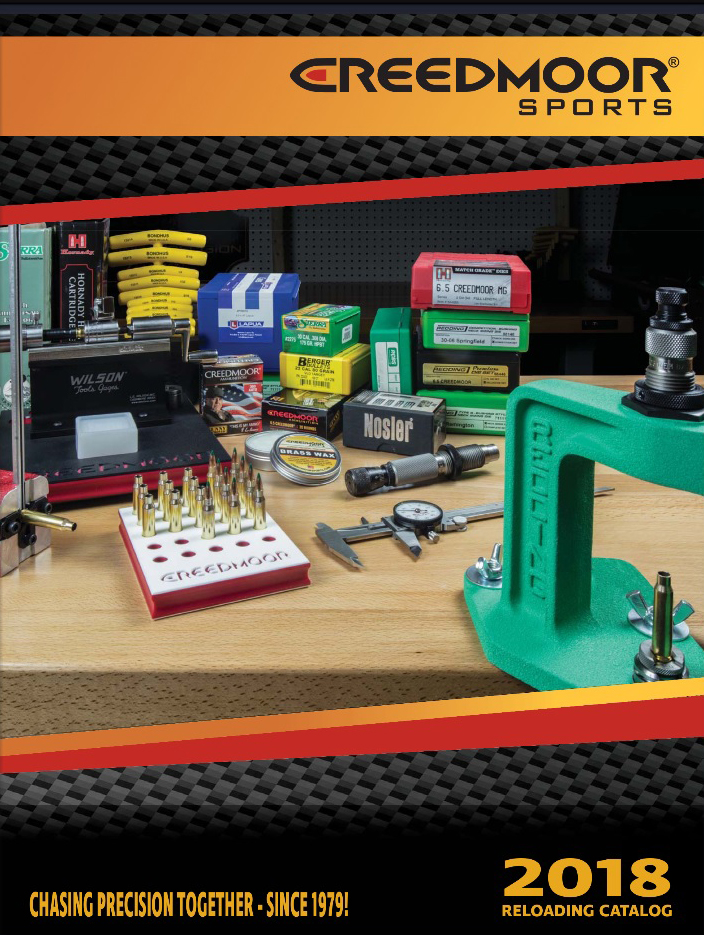 Creedmoor® Sports Announces Release of Reloading Catalog