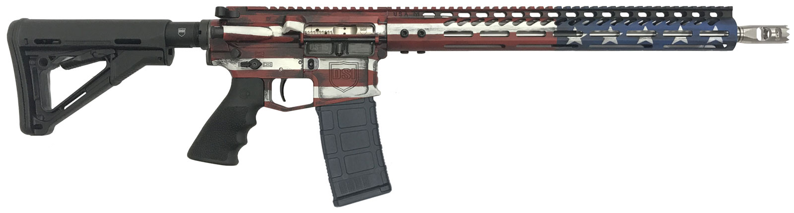 "DS-15 Signature 5.56 ""Freedom Flag"" Standard Rifle"