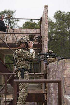 Winning Team from Annual U.S. Army Special Operations Command International Sniper Competition Used MasterPiece Arms Chassis'