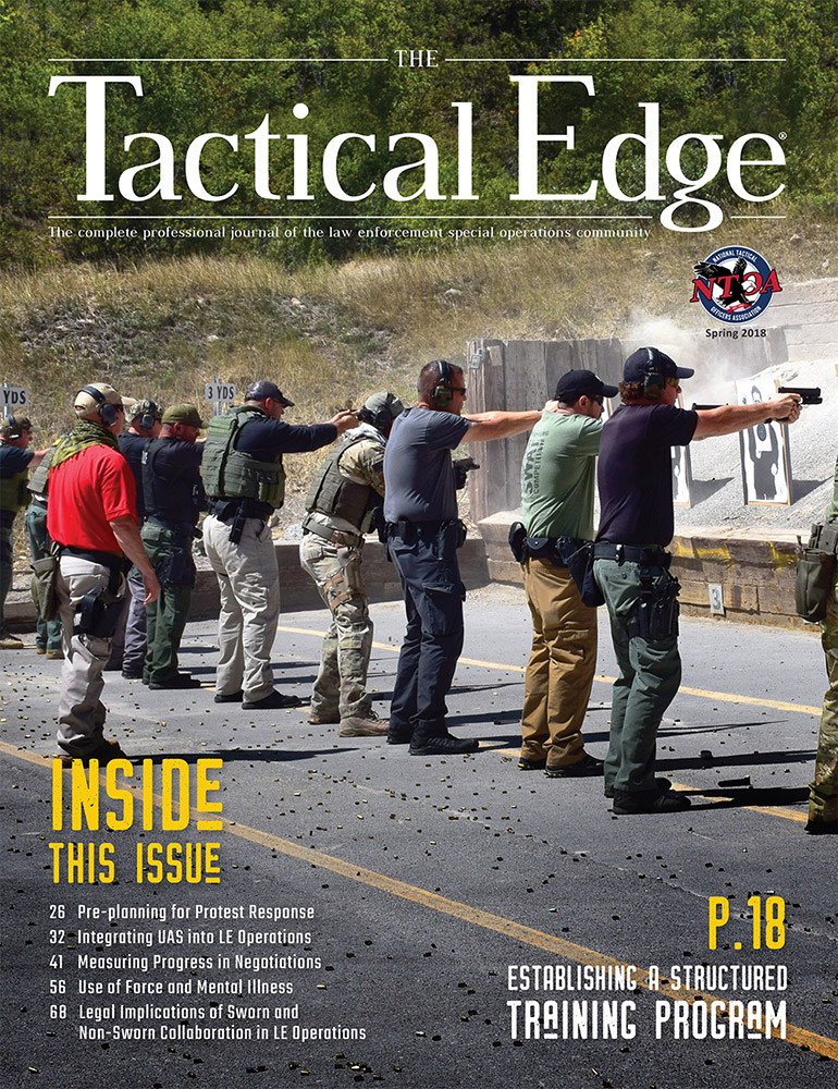 National Tactical Officers Association (NTOA) Releases the Spring Edition of  The Tactical Edge