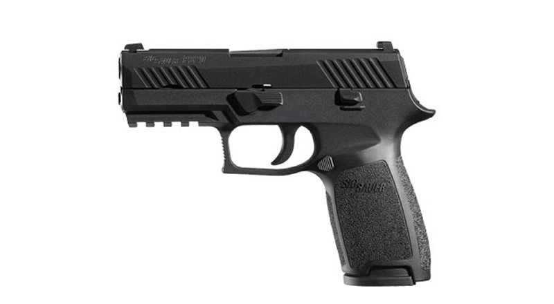 SIG Sauer Unveils a NAPED P320 Carry Size Thin Blue Line Pistol for NAPED Members Only