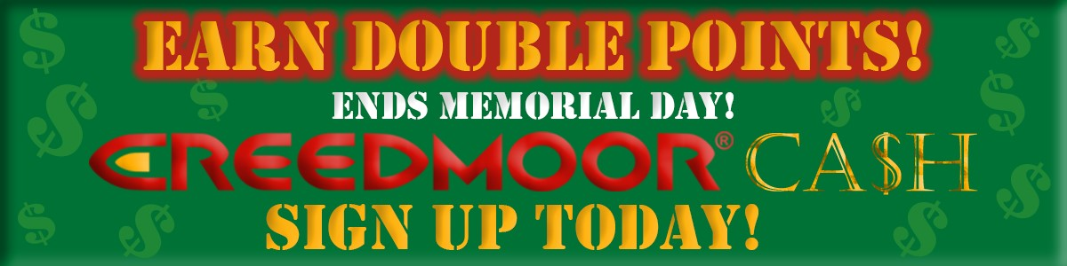 Memorial Day Weekend Sale at Creedmoor Sports