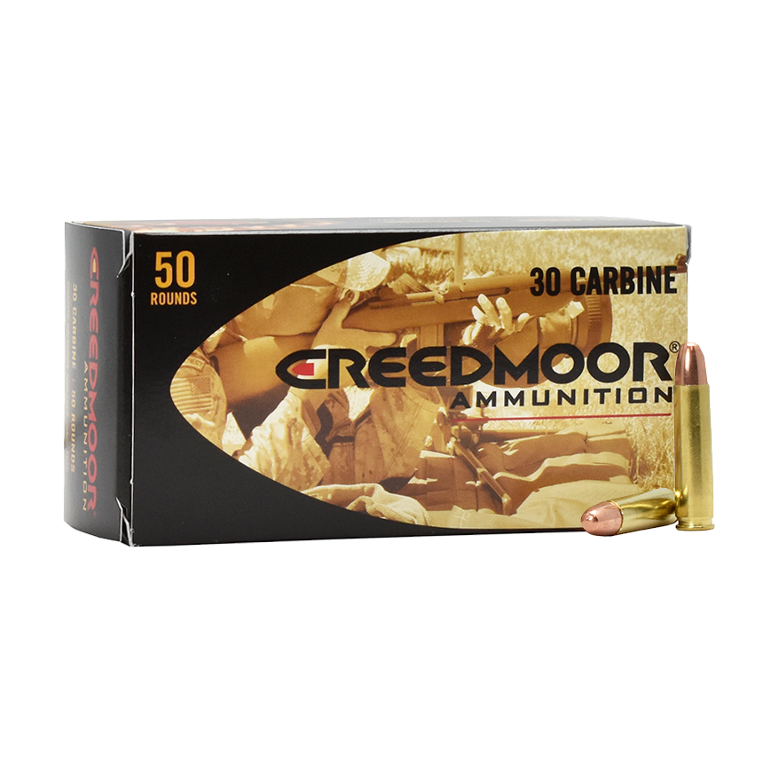 Creedmoor® Sports Releases .30 Carbine Rifle Ammunition