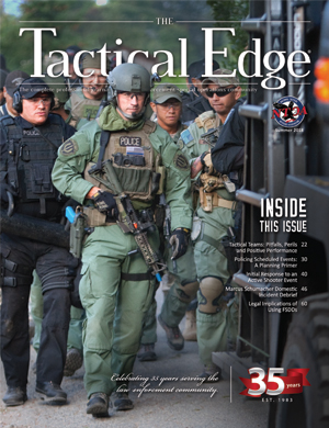 National Tactical Officers Association (NTOA) Celebrates 35th Anniversary with Release of the Summer Edition of The Tactical Edge