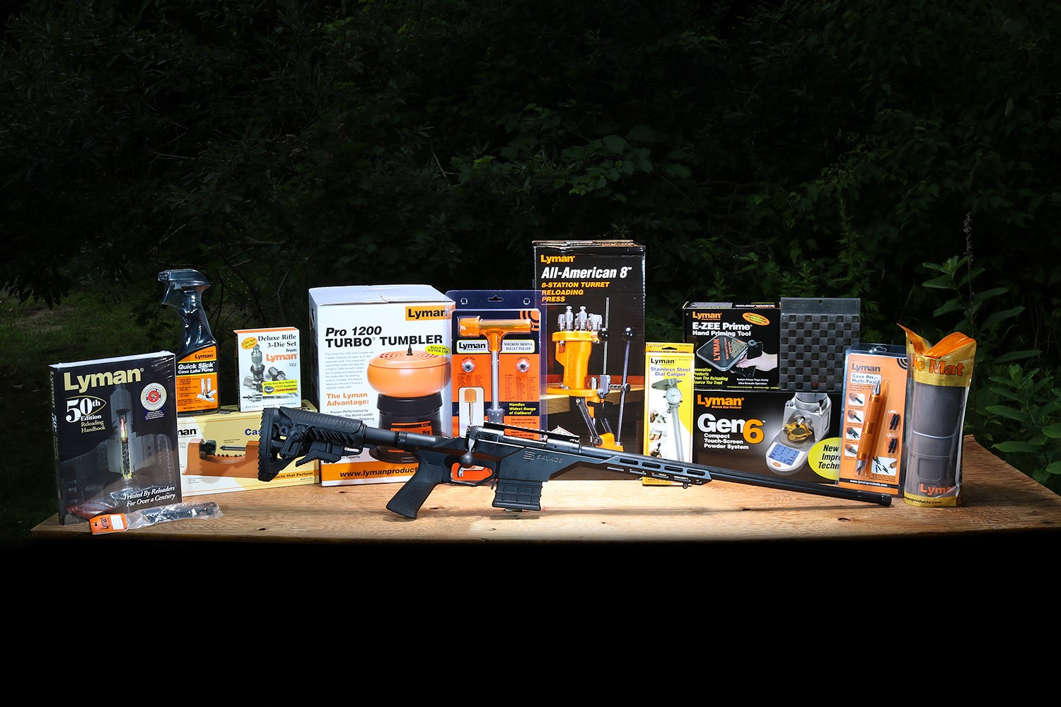 "Lyman® Products ""What's On Your Bench?"" Sweepstakes"