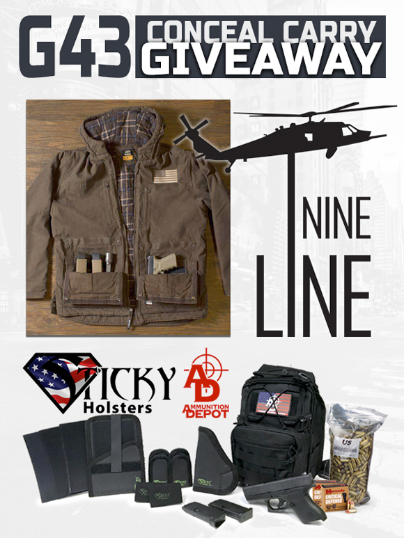 Now Through Oct. 21st Sign up for the Big G43 Conceal Carry Giveaway!