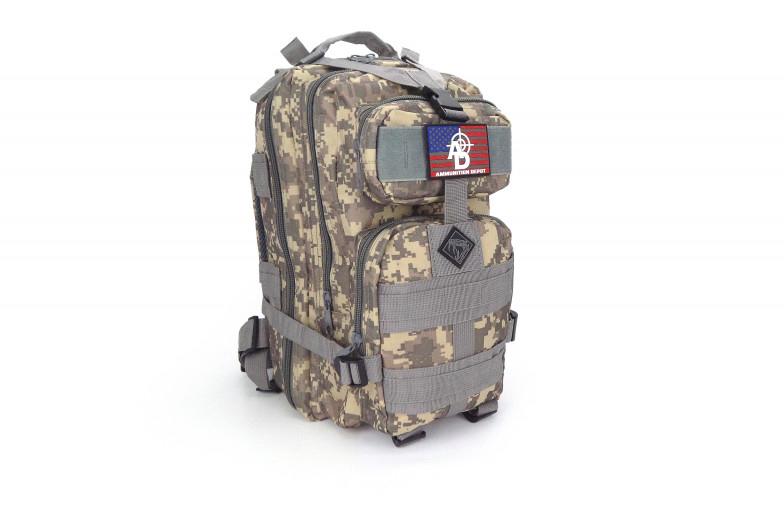 Ammunition Depot Adds Rattlesnake Tactical RTAC Assault Backpack Line with Holster and Ammunition Depot PVC Patch