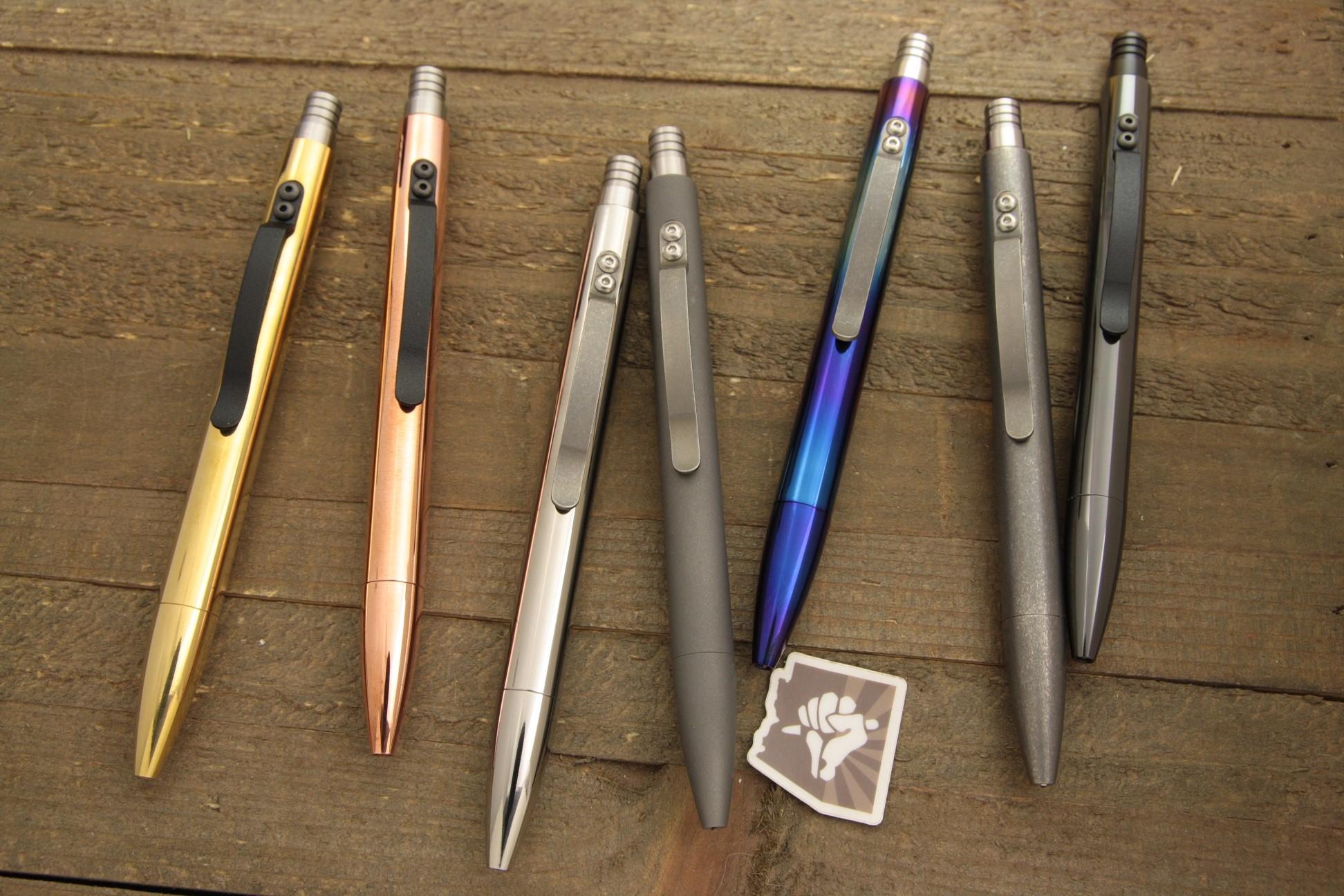 Tuff-Writer™ Launches New Retro-Click Executive Pen on Kickstarter
