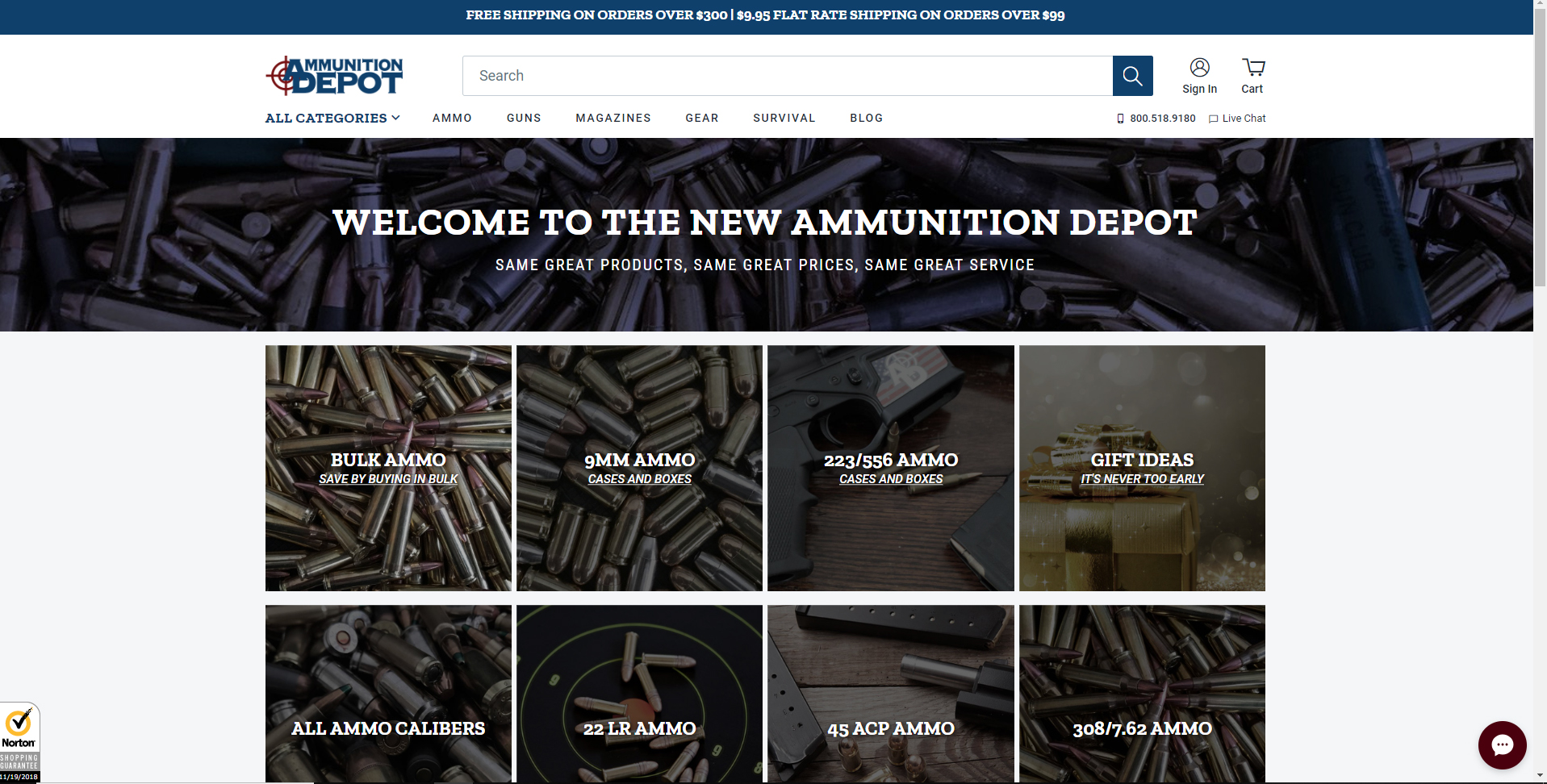 Ammunition Depot Launches New Upgraded Website