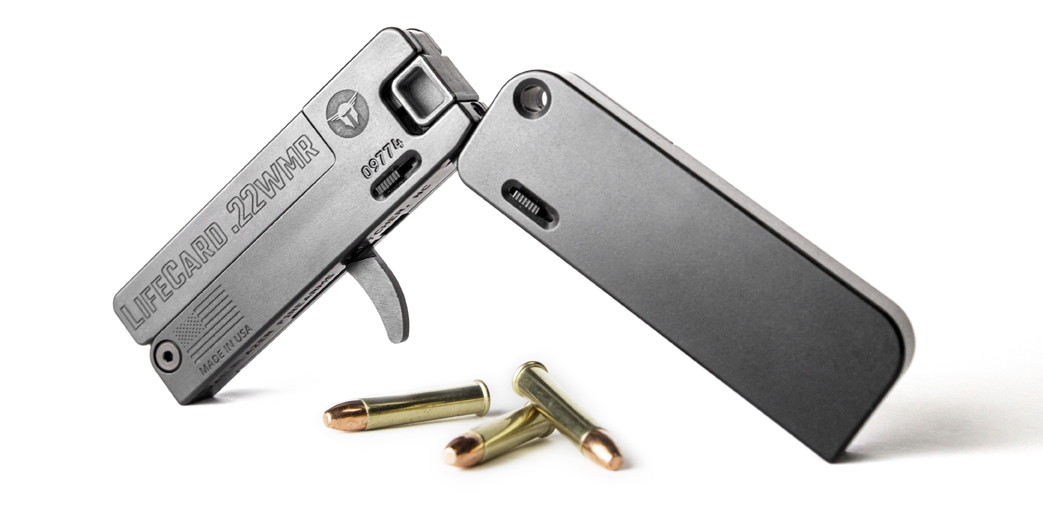 Trailblazer® Firearms Introduces the LifeCard .22 WMR Pocket Pistol