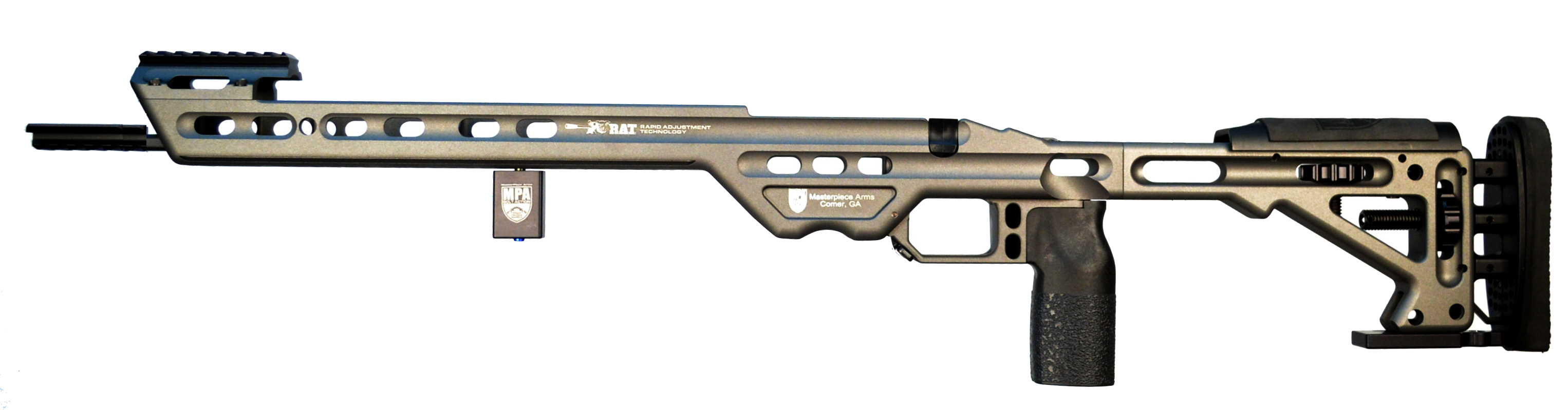 MasterPiece Arms' BA Competition Chassis Surveyed as #1 Most Popular Rifle Chassis/Stock by the Precision Rifle Blog (PRB)