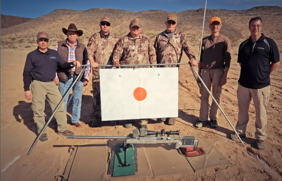 Crosstac's Sponsored Shooter, Paul Phillips, Hits Target at 6,000 Yards