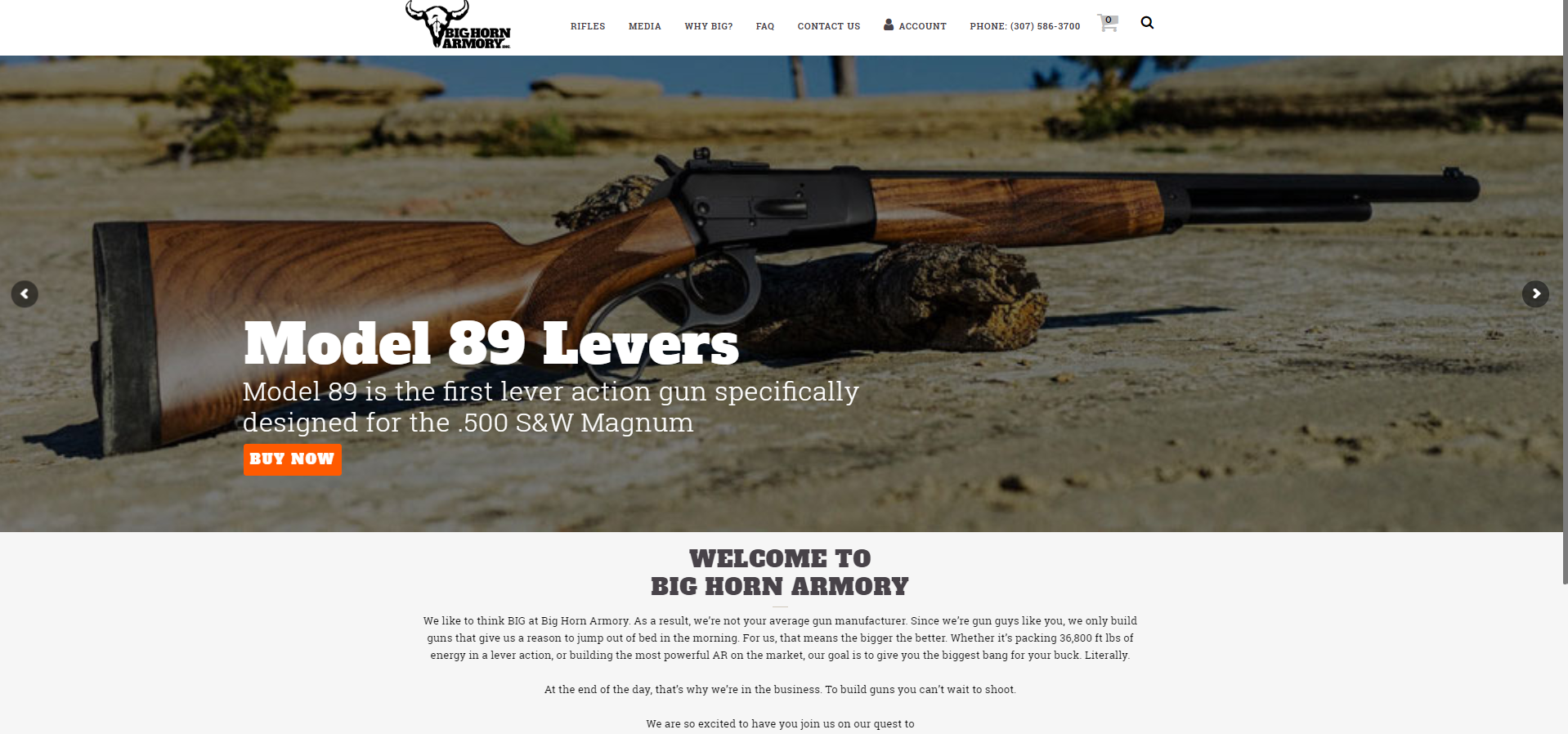 Big Horn Armory Launches Brand New Website