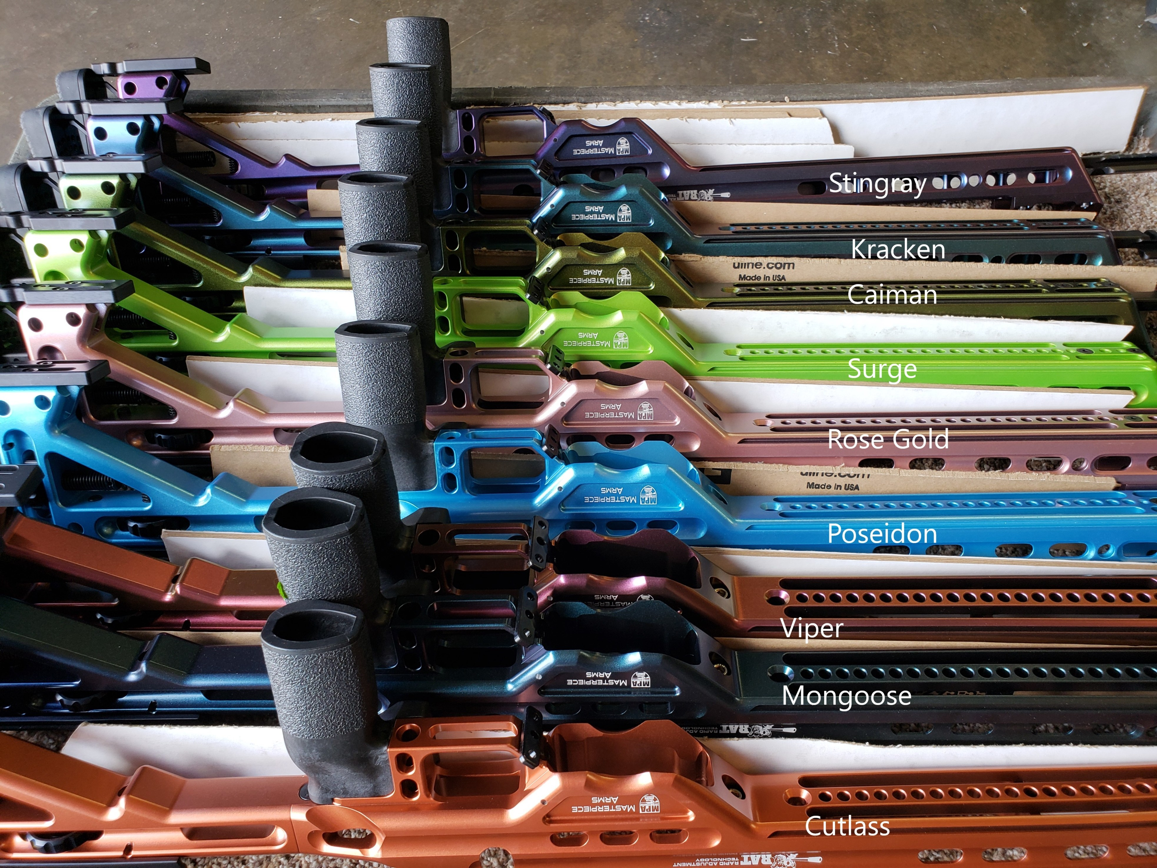 MasterPiece Arms (MPA) Introduces New Colors for their Rifles and Chassis