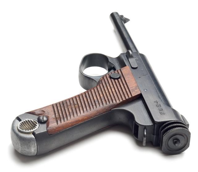 Type 14 Nambu pistol image courtesy of Oleg Volk.