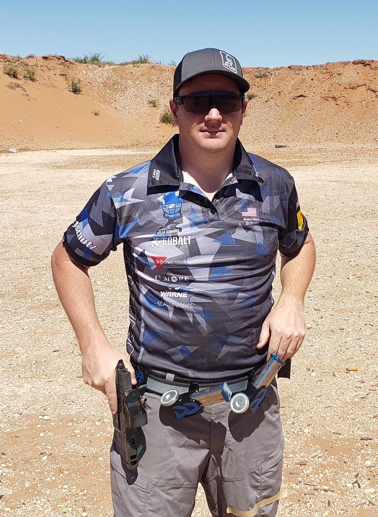 Shell Shock Technologies Sponsored Shooter Garrett Schutz Places First and Second Overall in Open and 2×4 Divisions at the MSA 3 Gun Competition