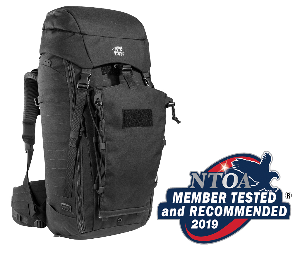Tasmanian Tiger® TT Modular Pack 45+ Receives SILVER Score in the  2019 NTOA Member Tested and Recommended Program with Overall Score of 4.43 out of 5