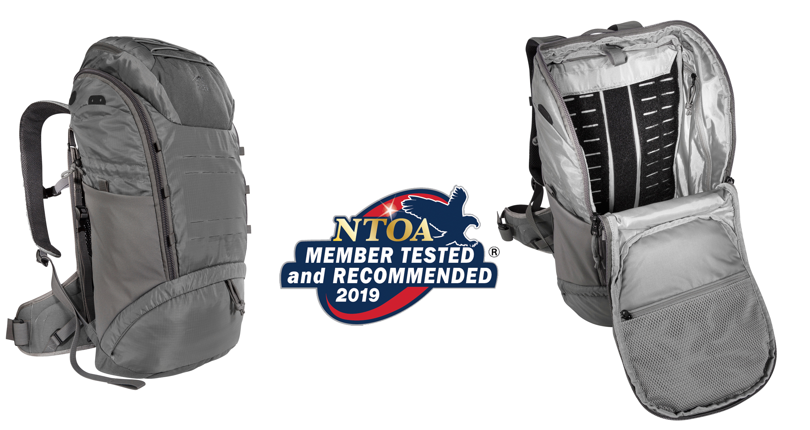 Tasmanian Tiger® TT TAC Modular Pack 30 Vent Receives GOLD Score in the 2019 NTOA Member Tested and Recommended Program with Overall Score of 4.78 out of 5