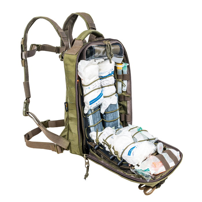 TT Medic Assault Pack MKll S showing loaded (medical contents not included)