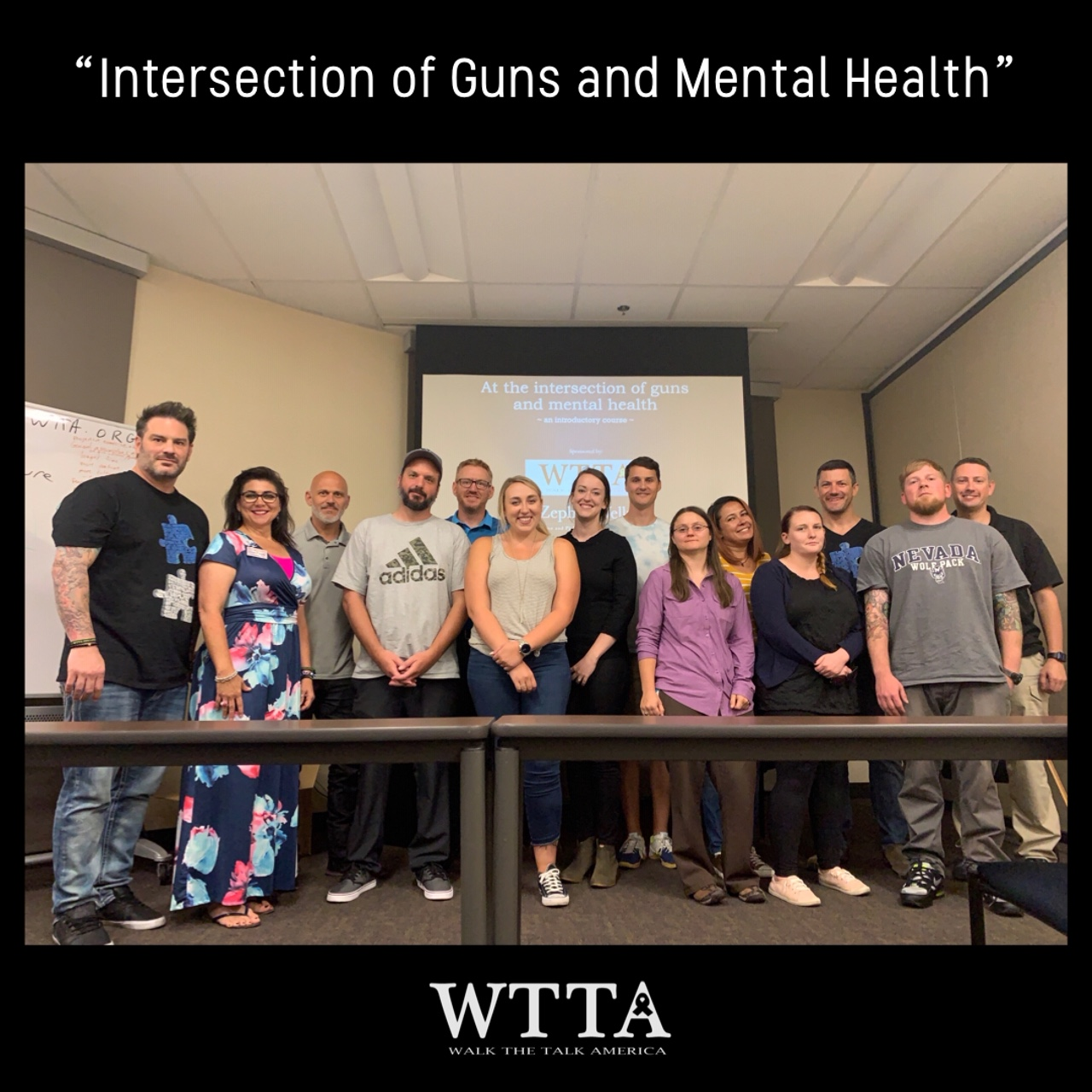 "Walk the Talk America and Zephyr Wellness First Seminar ""At the Intersection of Guns and Mental Health"" Paves Path for Success"