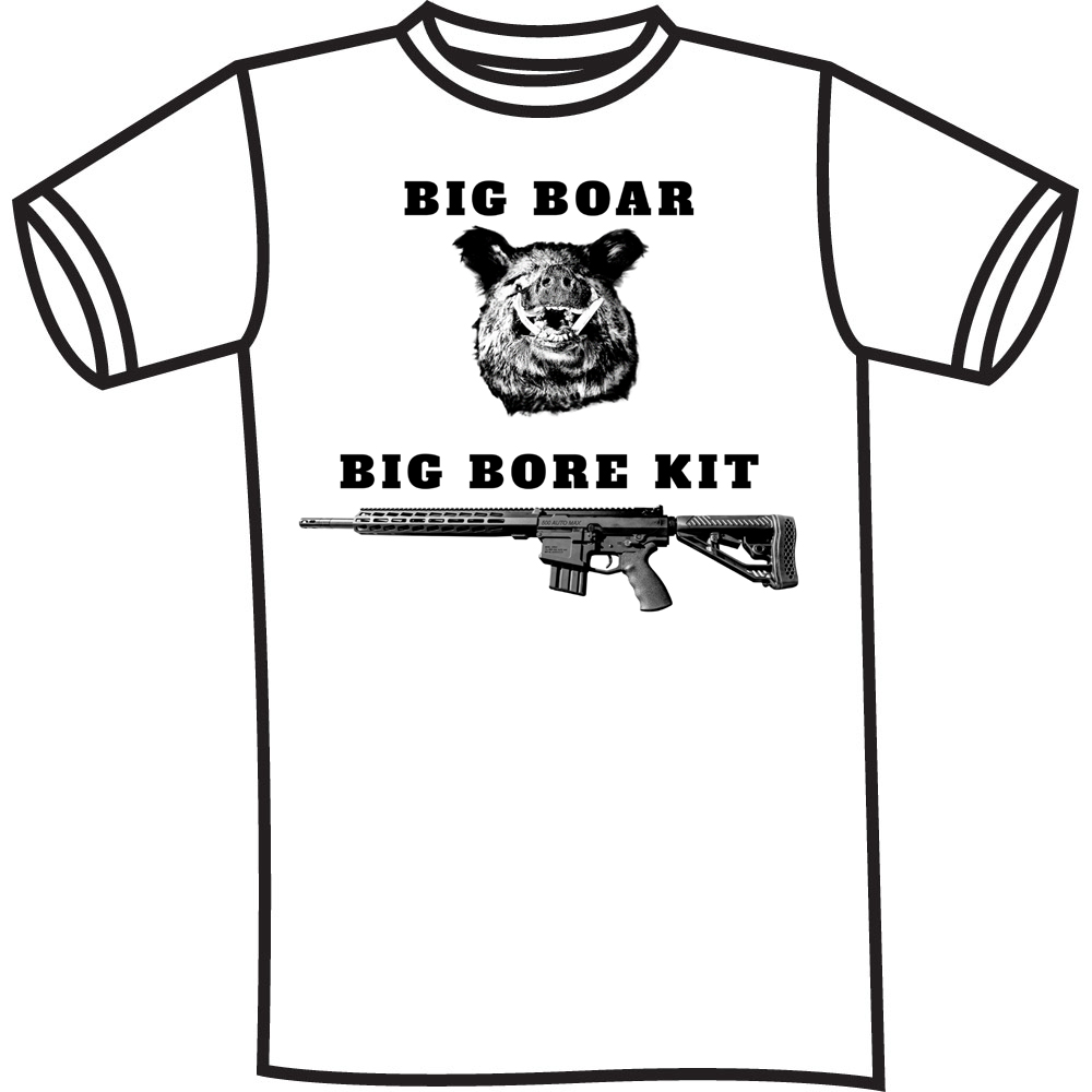 Celebrate Your Labor Day Weekend Wearing a Big Horn Armory Big Bore Kit Tee