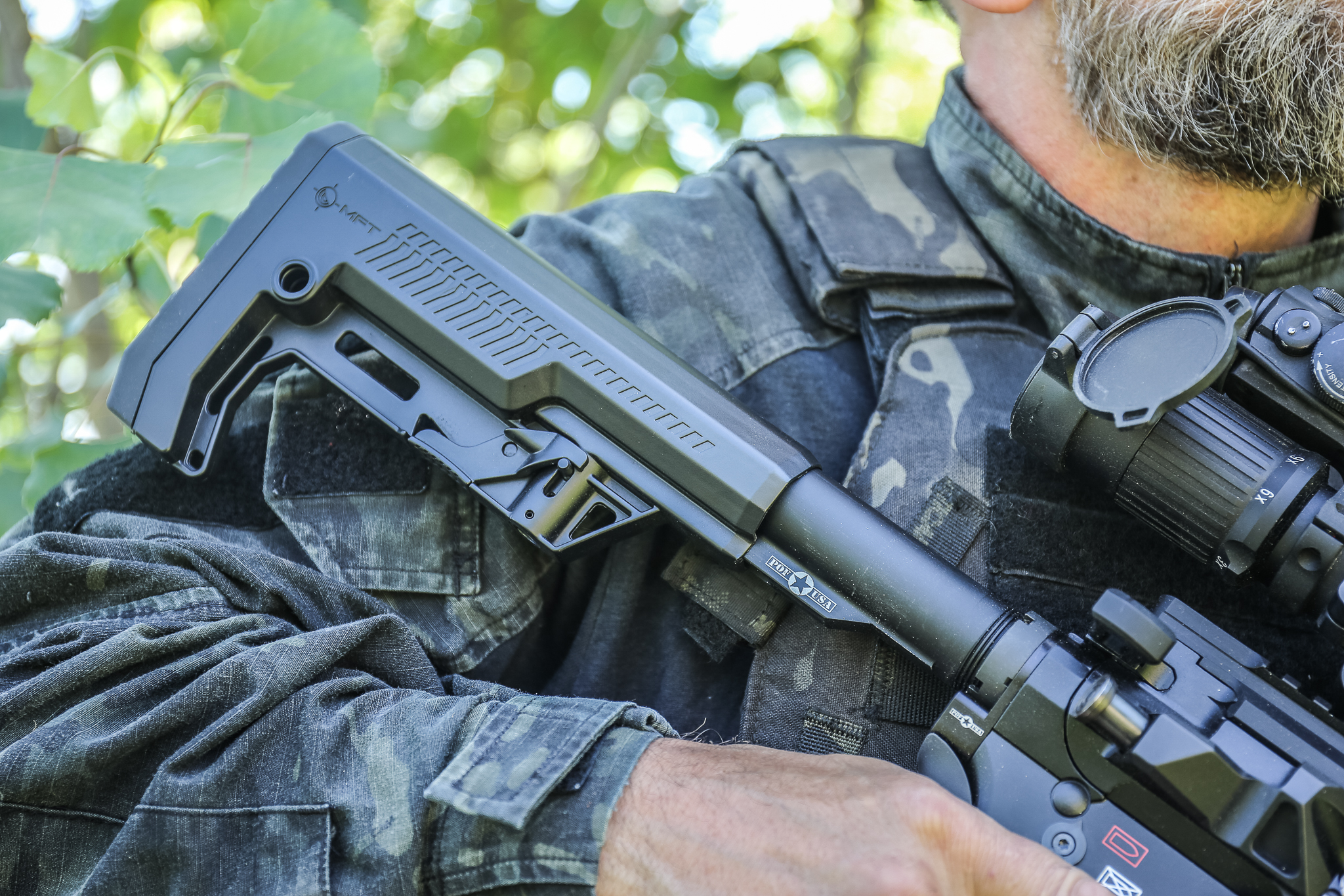 Mission First Tactical (MFT) Introduces Battlelink Extreme Duty Minimalist Stock