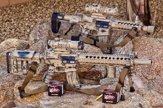 T_Gun's 458 SOCOM builds with XCaliber Ammo boxes. XCaliber became Steinel Ammunition in 2018.