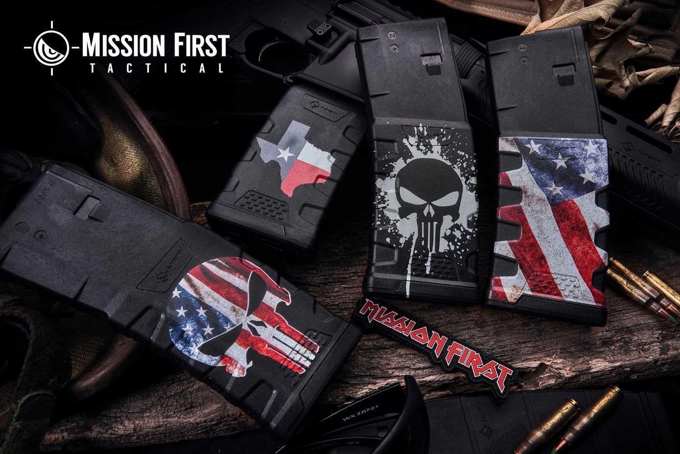 Mission First Tactical (MFT) Introduces New Decorated Extreme Duty 5.56 Polymer Mag