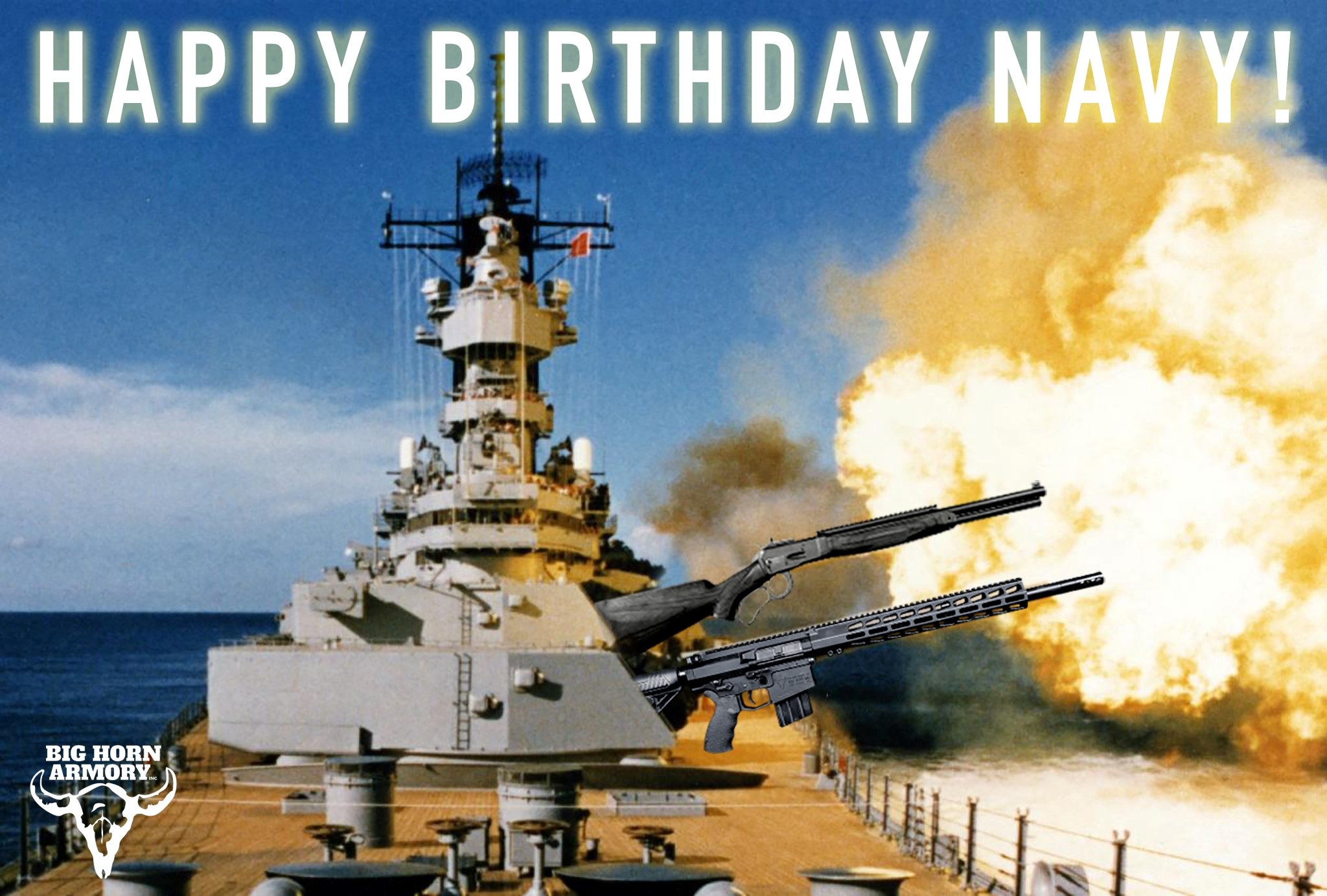 Big Horn Armory Celebrates the U.S. Navy's Birthday with Special Promotion