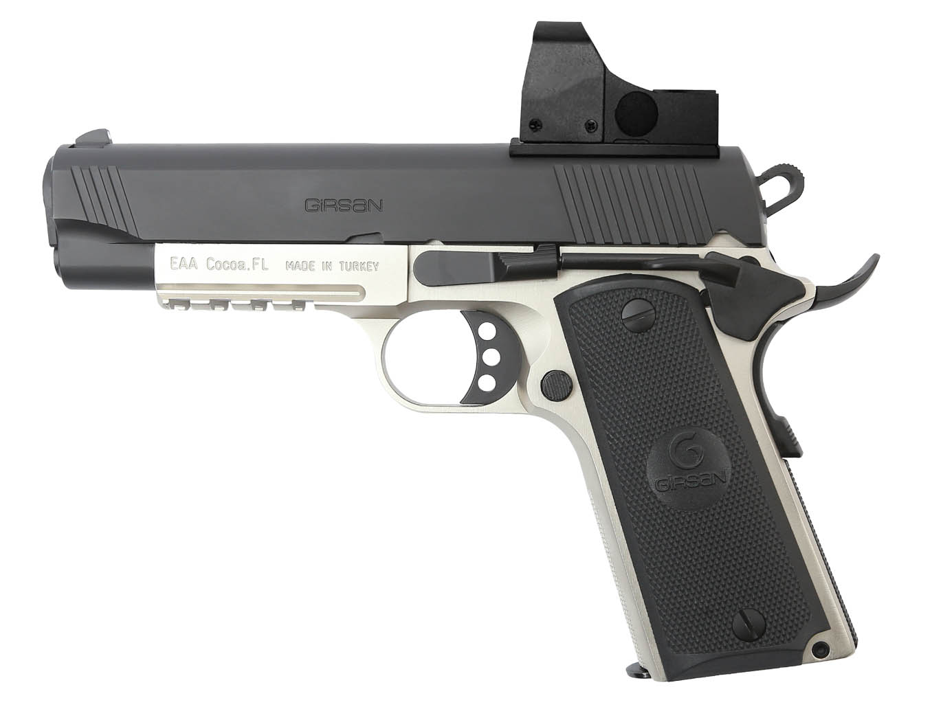The EAA Girsan MC1911C Commander, Now Available in .45 and 9mm