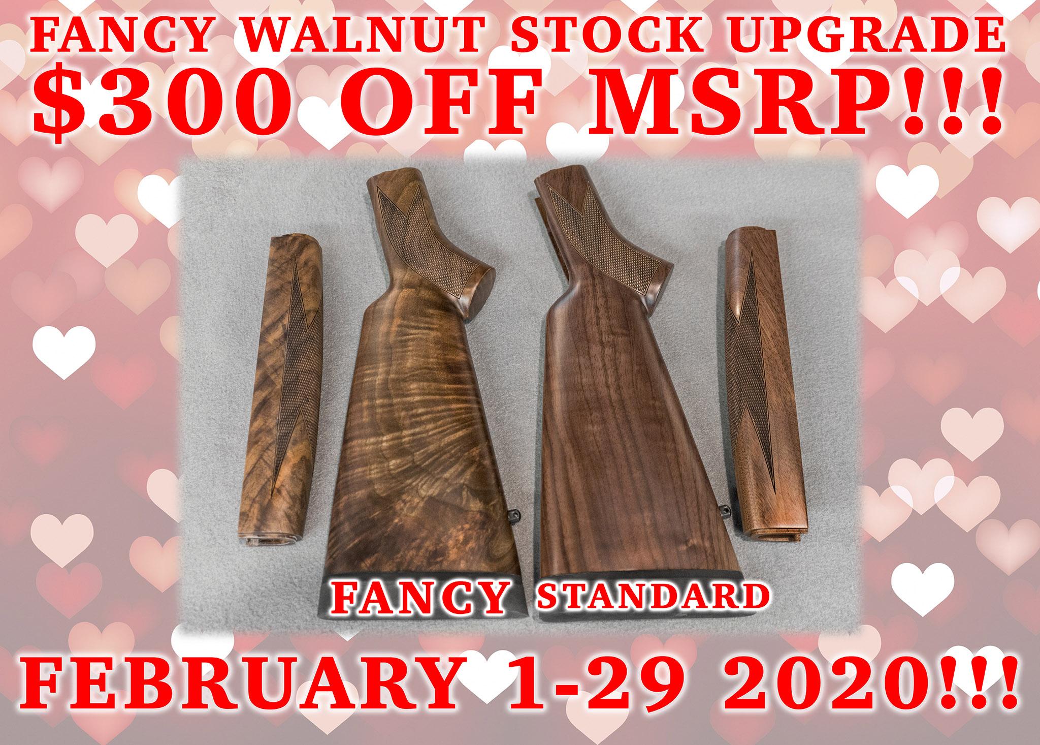 Big Horn Armory Unveils Half Price Special on all Fancy Walnut Stocks
