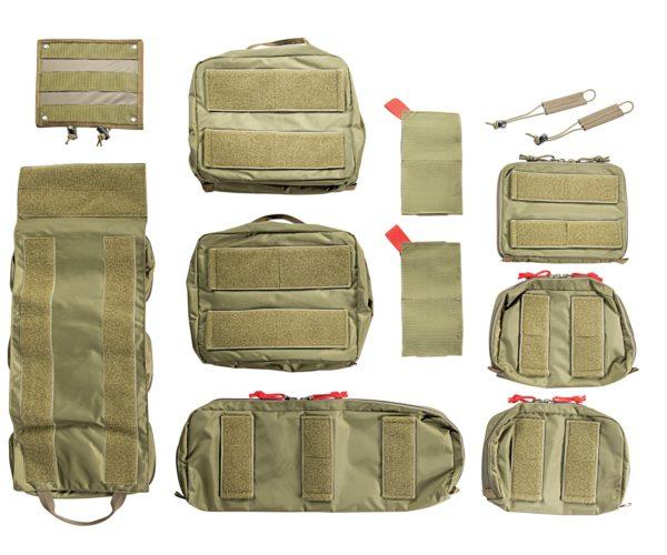 TT Modular Medic Insert 45 hook-and-loop side shown