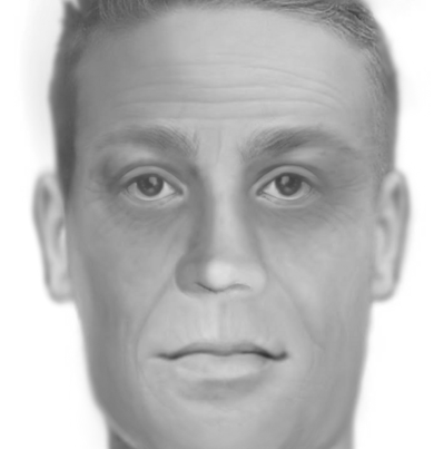 Forensic depiction of Charleston, MO John Doe Image credit: Anthony Redgrave