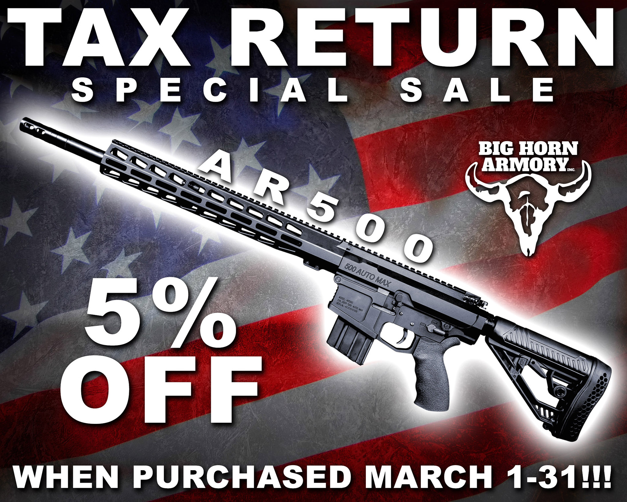 Big Horn Armory Brings Back a Fan Favorite Deal on its AR500