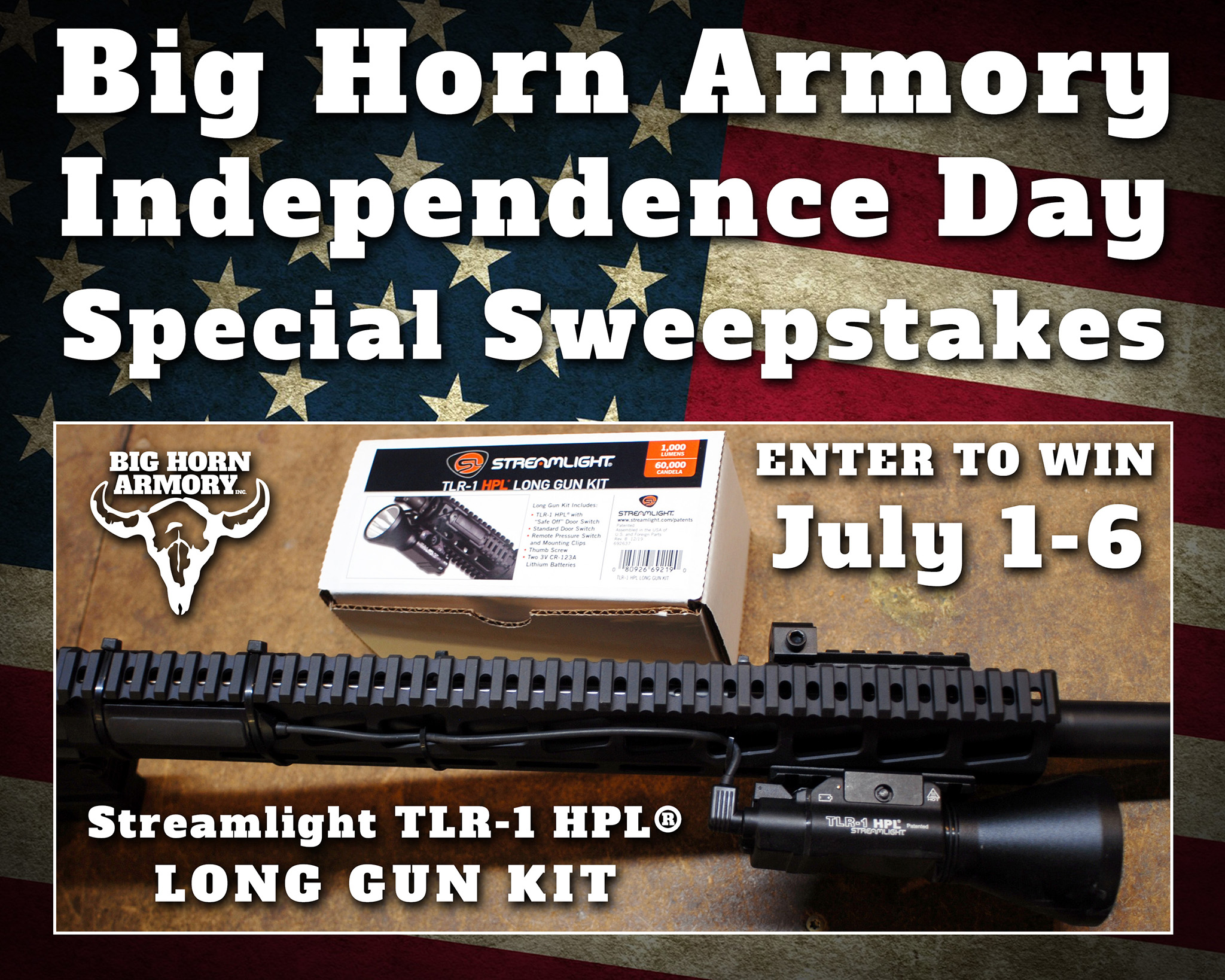 Big Horn Armory (BHA) Celebrates America's Independence with a Special Sweepstakes
