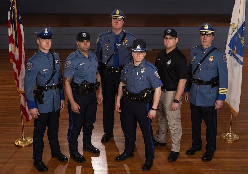 Barre Police Department Class A, Class C and Training Uniform program.