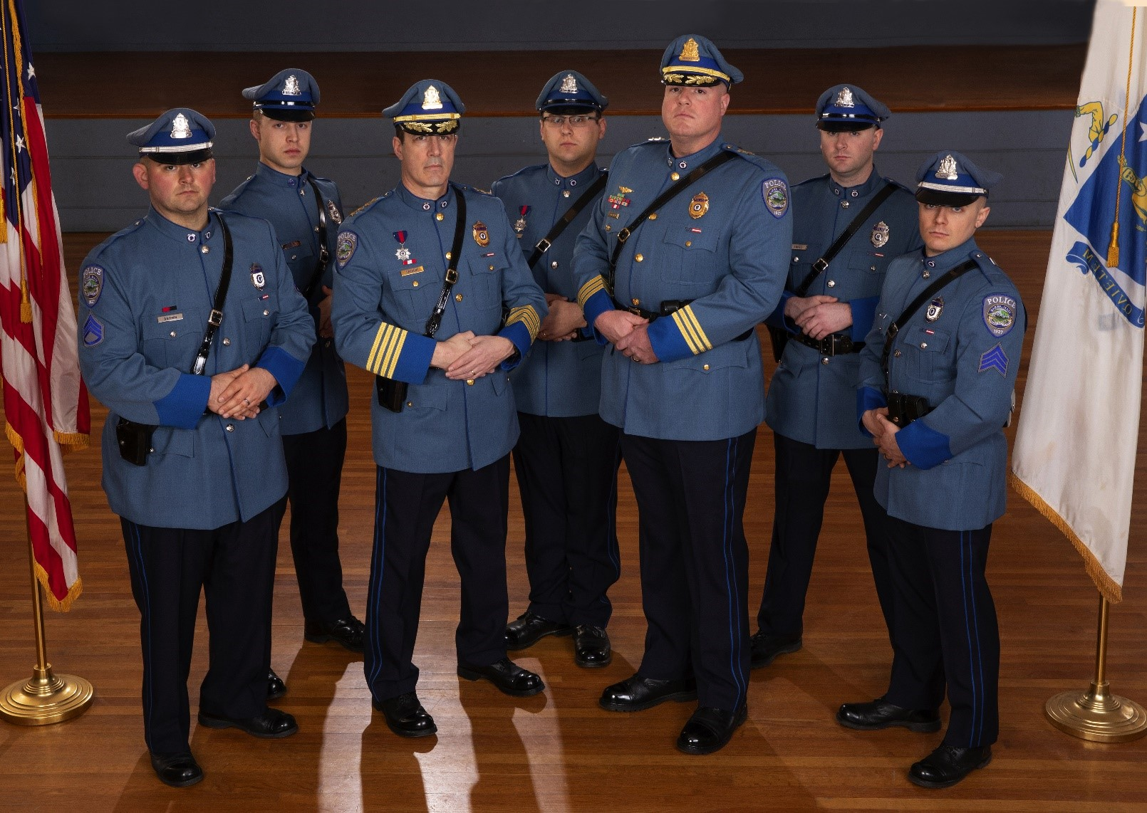 NAUMD Names Barre Police Department Best Dressed