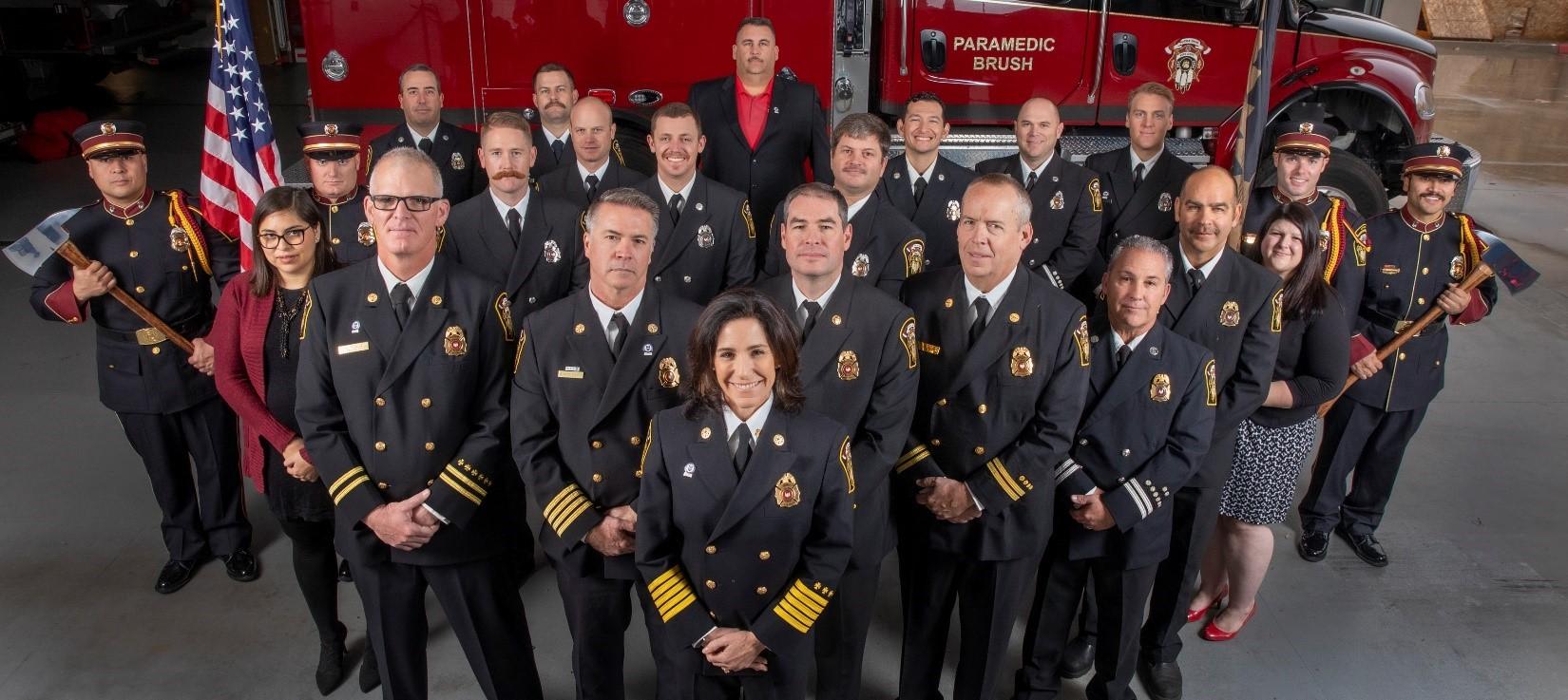 NAUMD Names Yocha Dehe Fire Department Best Dressed