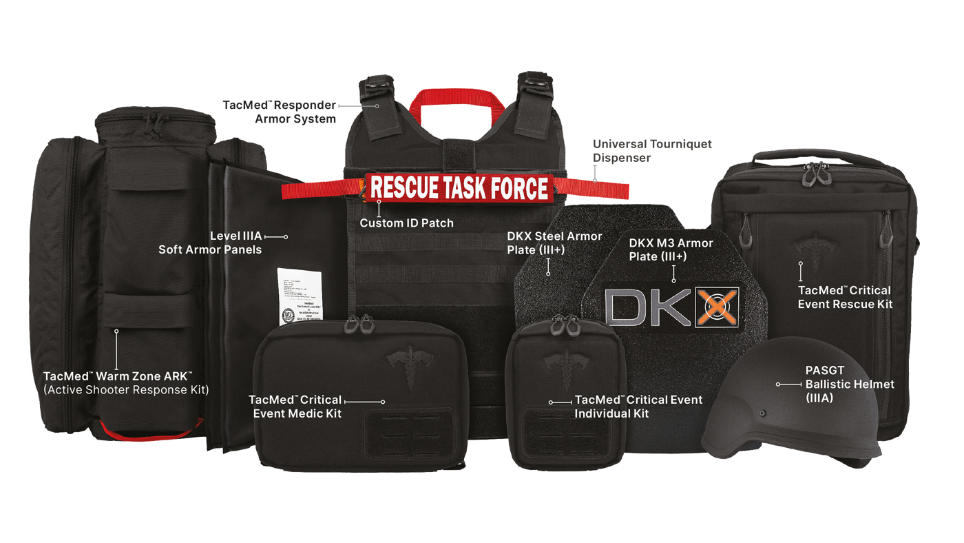 Tactical Medical Solutions® (TacMed) Introduces the Critical Event Response System