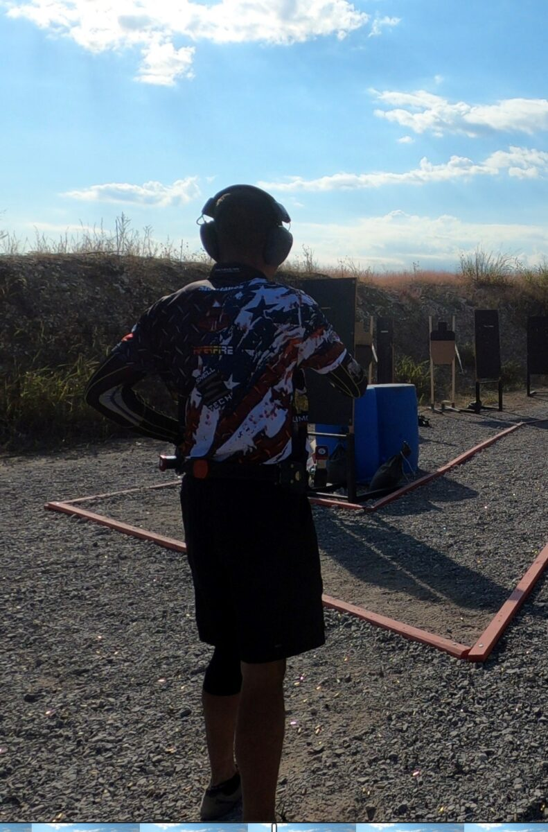 Sponsored Shooter Albert Montanez competing at the 2020 North Texas Open Sectional.