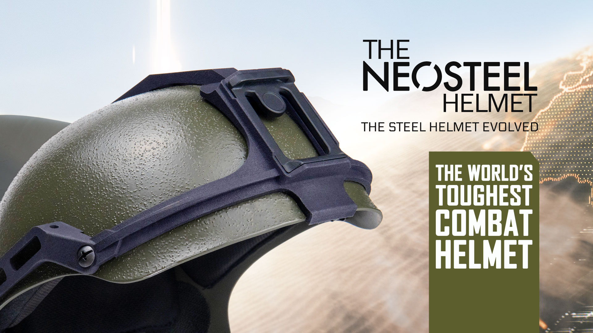 Diamond Age NeoSteel™ Tactical Helmet Accessories Now Available
